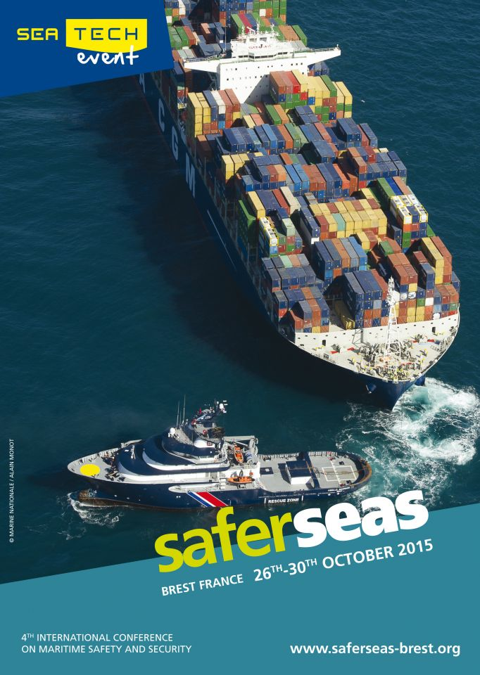 Safer Seas 2015 : l'évènement à Brest du 26 au 30 octobre!